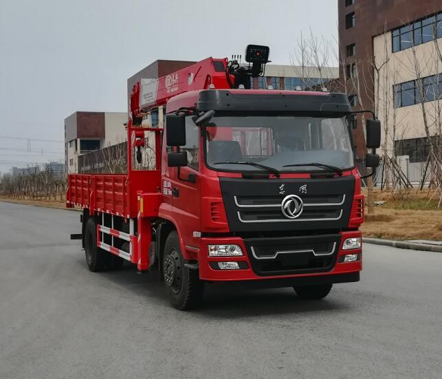 国五深圳东风8吨随车吊